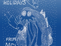 Happy Holidays From Mew by Jonas Bjerre