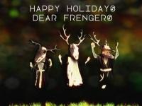 Happy Holidays Dear Frengers by Jonas Bjerre
