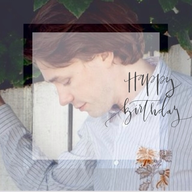 Let your birthday be as wonderful as you are! Happiezt birthday to Jonas Bjerre @mew