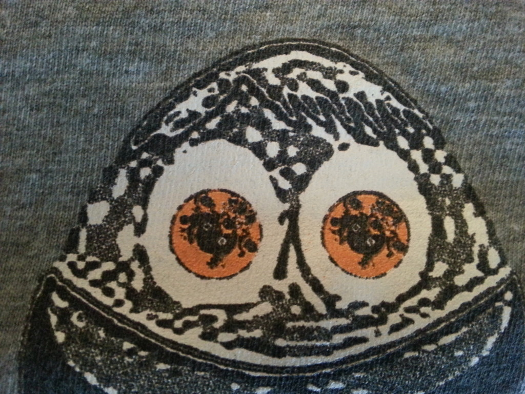 CD art as it appears on Mewsite.com in the eyes of the Mew eggs on a tour t-shirt from the November