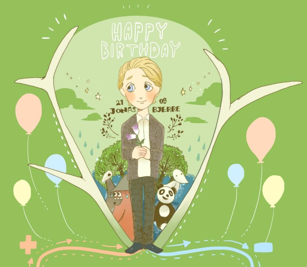 HAPPY BIRTHDAY Jonas! image